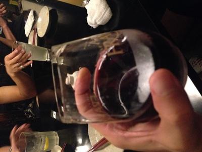 トーサミの打ち上げは赤ワインで。_f0182998_2362171.jpg