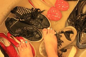 靴を洗う_b0320131_11274619.jpg