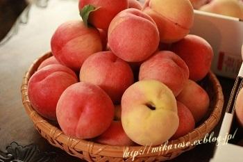 桃、桃、桃 ~コンポート作り~_a0264538_1551963.jpg
