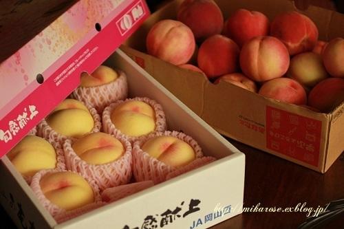 桃、桃、桃 ~コンポート作り~_a0264538_16111441.jpg