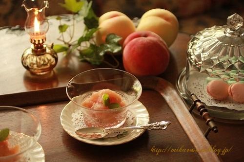 桃、桃、桃 ~コンポート作り~_a0264538_16395448.jpg