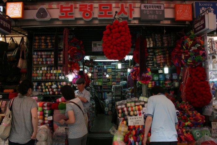 韓国④面白いものいっぱい~南大門市場_b0168840_17171131.jpg