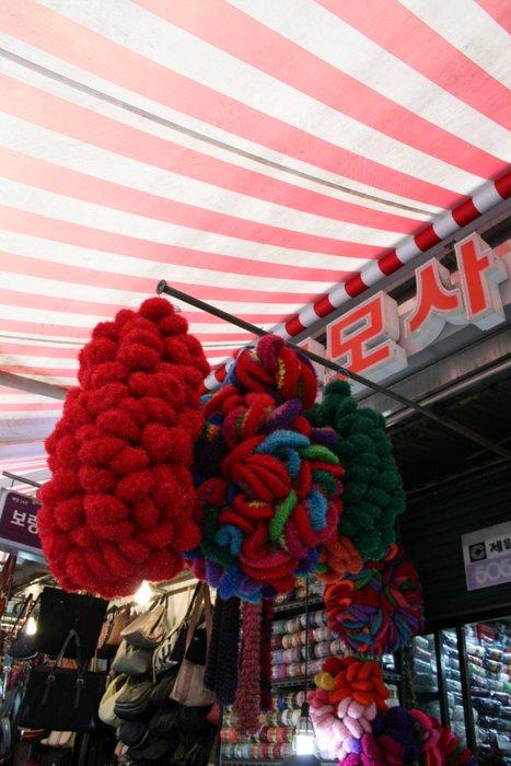 韓国④面白いものいっぱい~南大門市場_b0168840_17173819.jpg