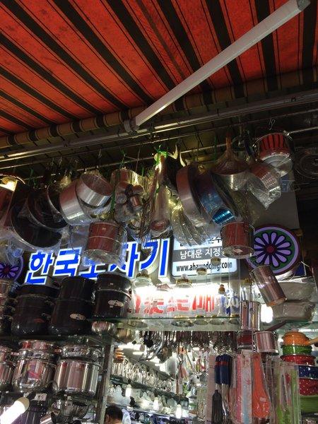 韓国④面白いものいっぱい~南大門市場_b0168840_17481096.jpg