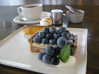 :: Blueberry Tarte ::_e0204865_1453036.jpg