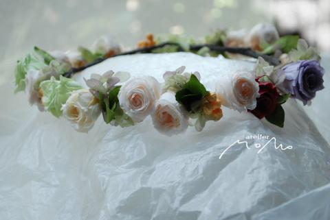 花冠 バラをあつめて♪_a0136507_22212939.jpg