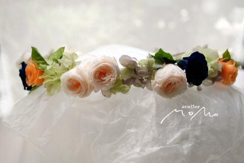 花冠 バラをあつめて♪_a0136507_22213910.jpg