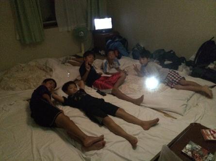 キッズキャンプ初日!2014.夏_f0101226_01041232.jpg