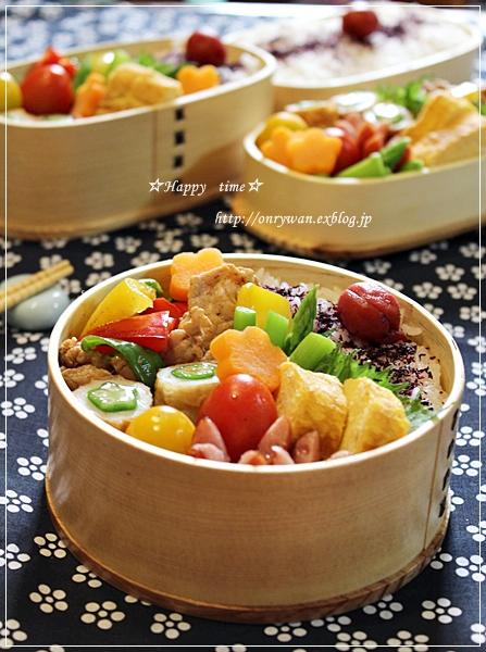肉野菜炒め弁当♪_f0348032_19031352.jpg