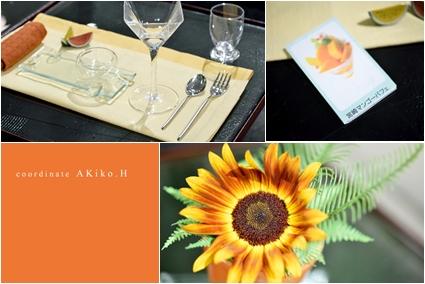 フルーツパフェで夏テーブル ~空間コーディネートクラス _d0217944_1146911.jpg