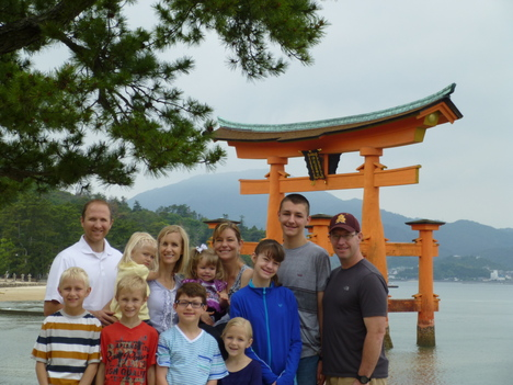 Two American families from Tokyo_a0255452_16105160.jpg