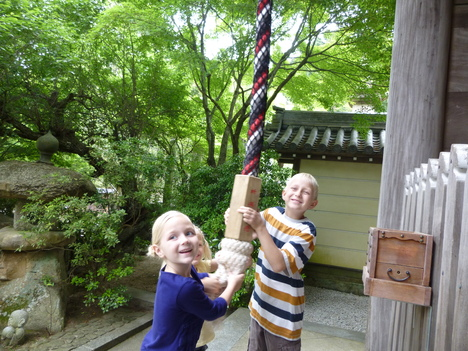 Two American families from Tokyo_a0255452_16114220.jpg