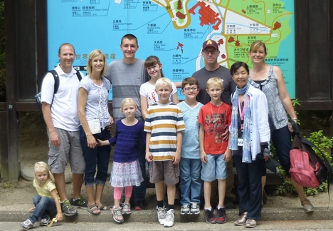 Two American families from Tokyo_a0255452_1613133.jpg