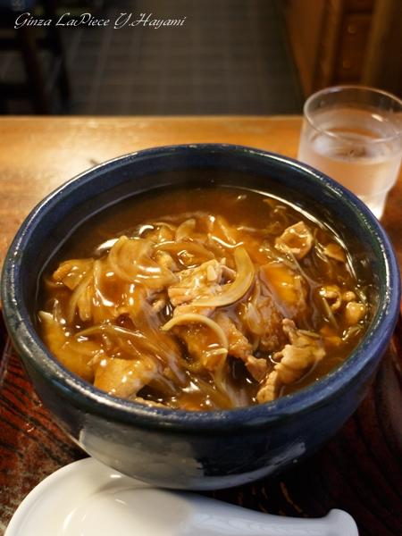 料理の風景 カツカレー蕎麦_b0133053_0533893.jpg