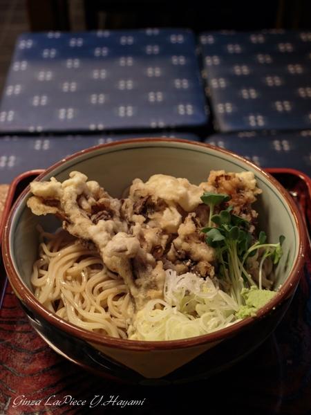 銀座ランチ 泰明庵 冷カツカレー蕎麦など色々_b0133053_059351.jpg