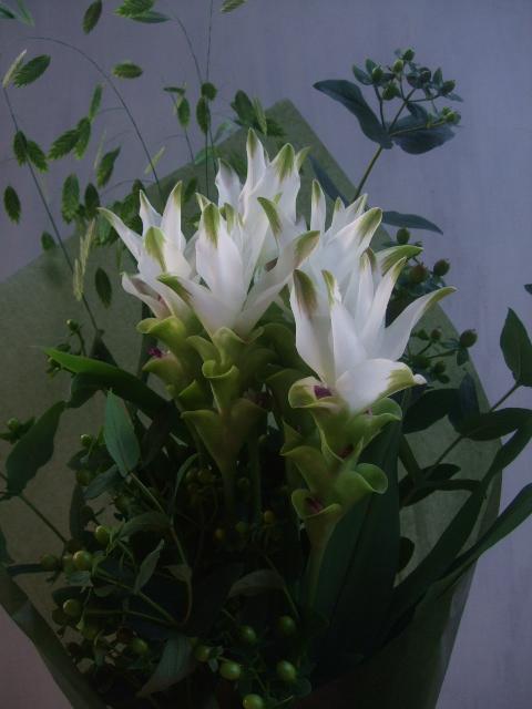 オークリーフ(お誕生日の花束)_f0049672_16253530.jpg