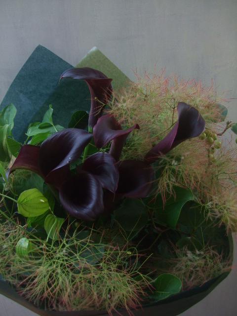 オークリーフ(お誕生日の花束)_f0049672_16304165.jpg