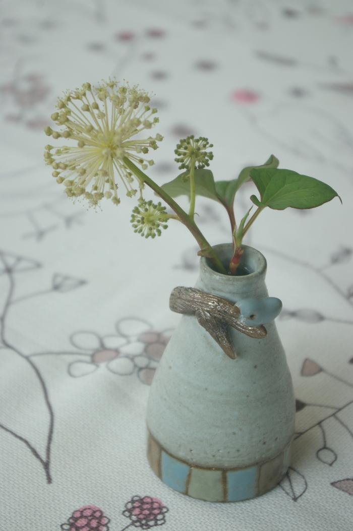 かわいいうどの花。_d0114782_22185995.jpg
