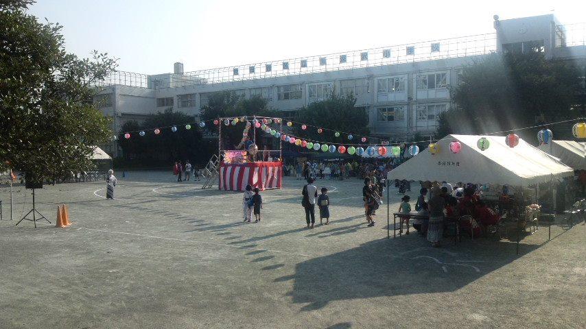 深沢小学校 「みんなで盆おどり」2014_c0092197_18543023.jpg