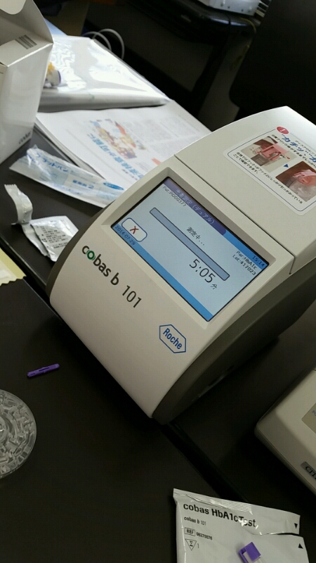 自己採血測定器 説明会イン タカヤマ薬局_d0092901_21262441.jpg