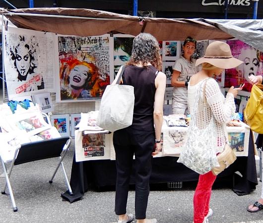 夏のニューヨークの見所、ストリート・フェア(8月のスケジュール付)_b0007805_22464329.jpg