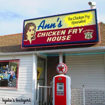 ルート66のダイナー、Ann\'s Chicken Fry House_b0253205_2232498.jpg