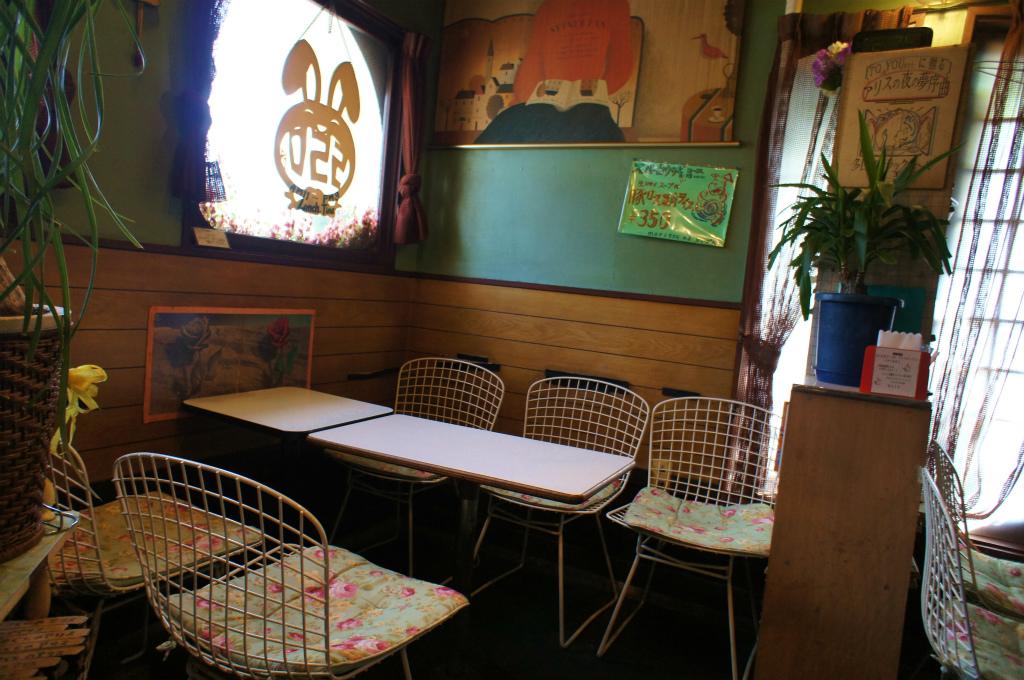 古い喫茶店にて_c0057415_21503551.jpg