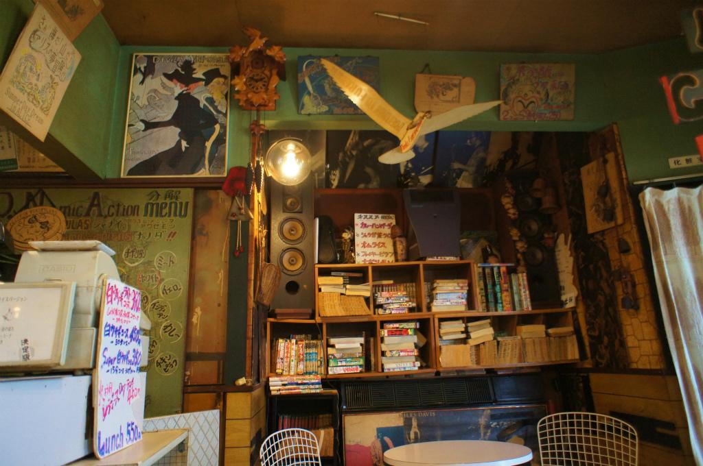 古い喫茶店にて_c0057415_21572560.jpg