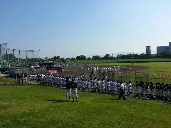 第55回奈良県学童野球大会 開会式_b0296154_11122632.jpg
