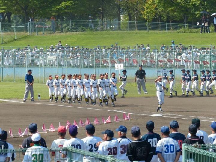 第55回奈良県学童野球大会 開会式_b0296154_1382572.jpg