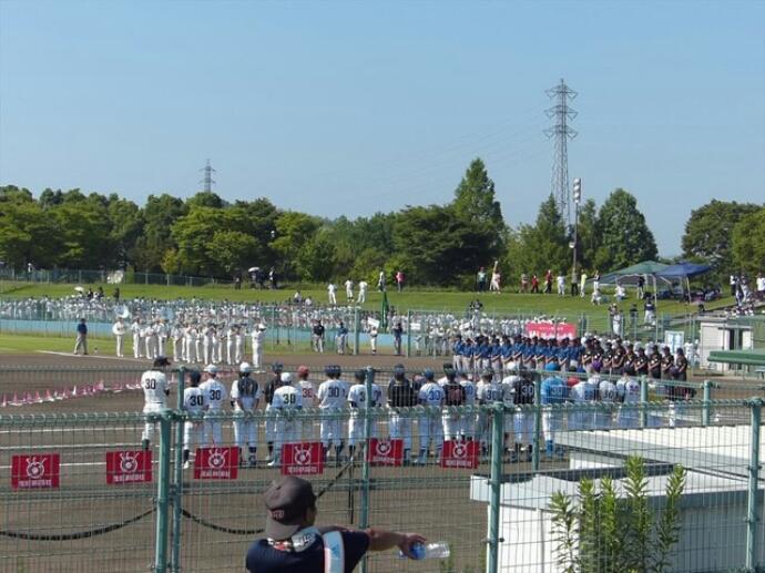 第55回奈良県学童野球大会 開会式_b0296154_1391170.jpg