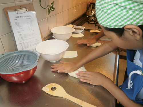 手作りパン教室_e0274266_1634133.jpg