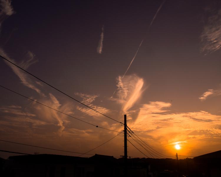 雲の夕景。_b0022268_20341470.jpg