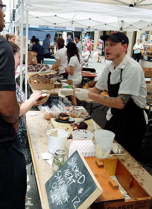NYのストリート・フェアで世界の食文化を楽しもう Taste of Jewish Culture_b0007805_22202680.jpg