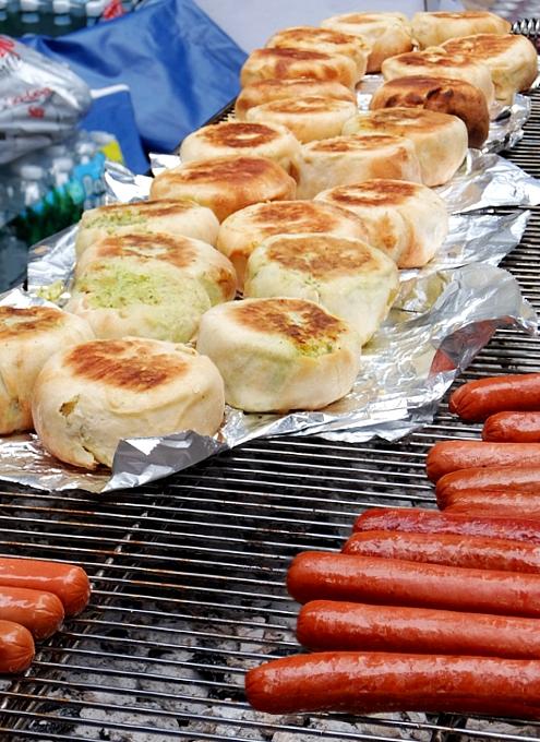 NYのストリート・フェアで世界の食文化を楽しもう Taste of Jewish Culture_b0007805_22221177.jpg