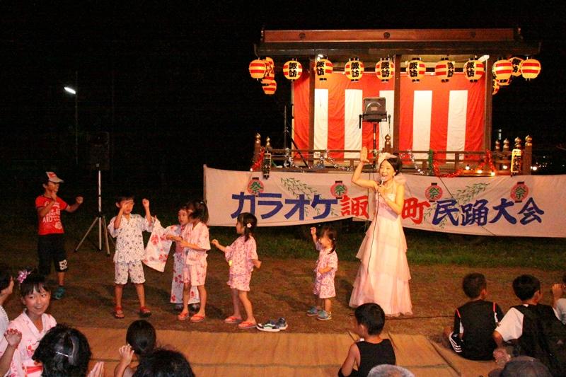 埼玉加須諏訪町盆踊りにて♪_f0165126_15353116.jpg