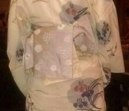 上七軒ビアガーデン・マサヨさんのお友達の浴衣姿。_f0181251_17474619.jpg