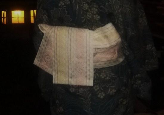 上七軒ビアガーデン・マサヨさんのお友達の浴衣姿。_f0181251_17565221.jpg