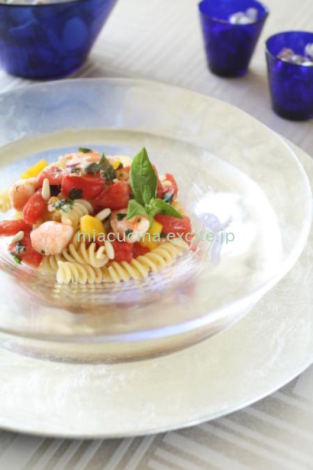 とうもろこしのスープ&夏のパスタ_b0107003_16064162.jpg