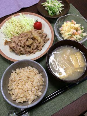 豚の生姜焼き_d0235108_2145212.jpg