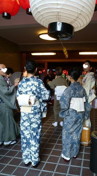 上七軒・マサヨさんの浴衣姿・営業時間のお知らせ。_f0181251_1912724.jpg