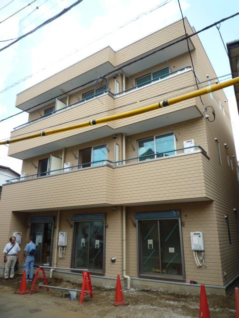完成間近『板橋区役所前』賃貸マンション_b0246953_20112958.jpg