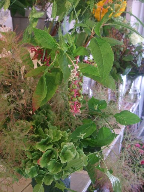 オークリーフ花の教室(出口さんと落合さんの作品)_f0049672_150434.jpg