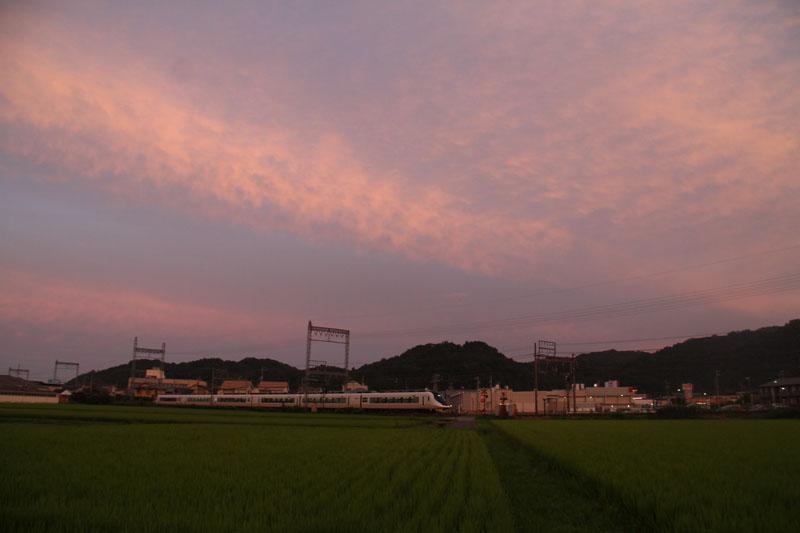 夕焼け_c0177785_5252058.jpg