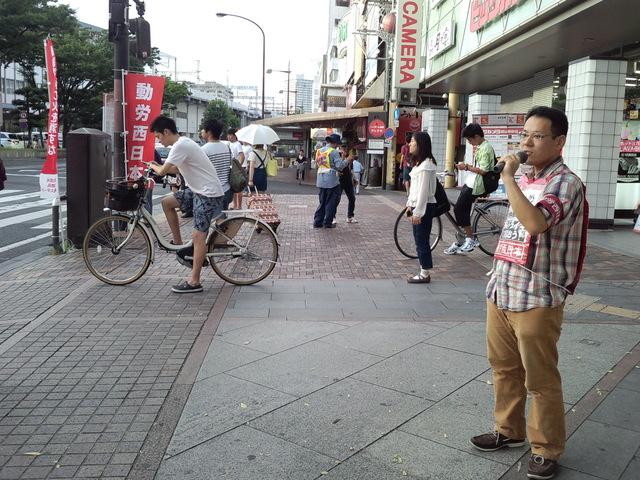 7月31日、岡山駅前で国鉄解雇撤回最高裁署名を訴える_d0155415_0193241.jpg
