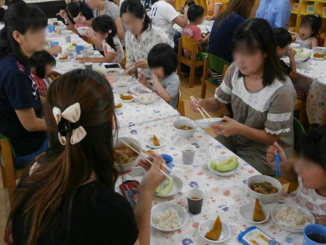 きりん組 保育参観と給食懇談会_e0148419_10295327.jpg