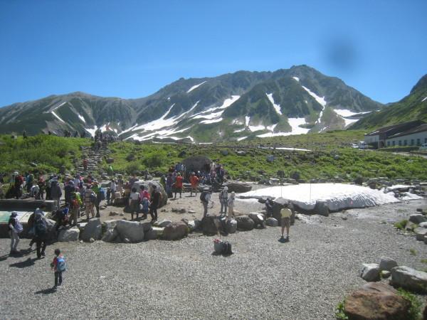 今年の夏山登山は立山縦走でした。_e0121558_23083269.jpg