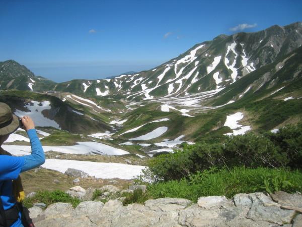 今年の夏山登山は立山縦走でした。_e0121558_23090649.jpg