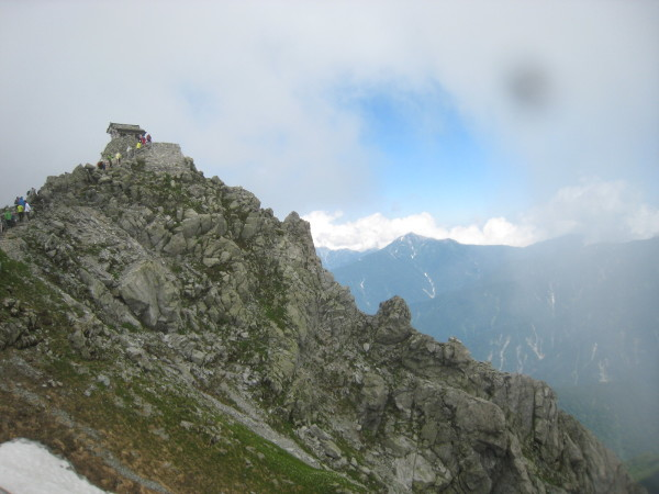今年の夏山登山は立山縦走でした。_e0121558_23092035.jpg