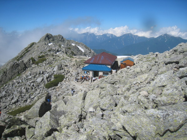 今年の夏山登山は立山縦走でした。_e0121558_23100110.jpg